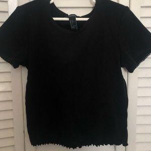 Black F21 shirt